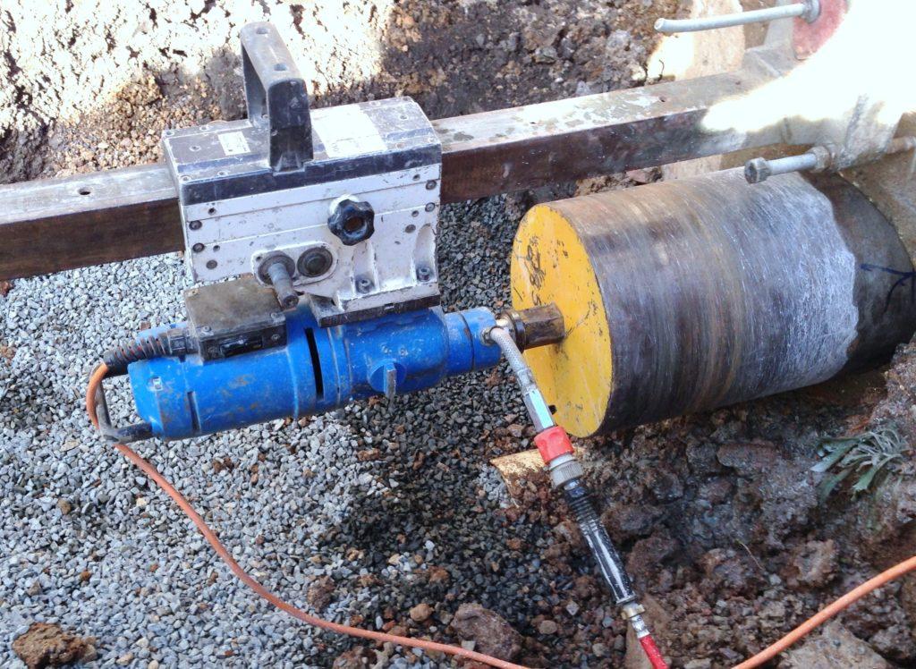 Drill hole 1